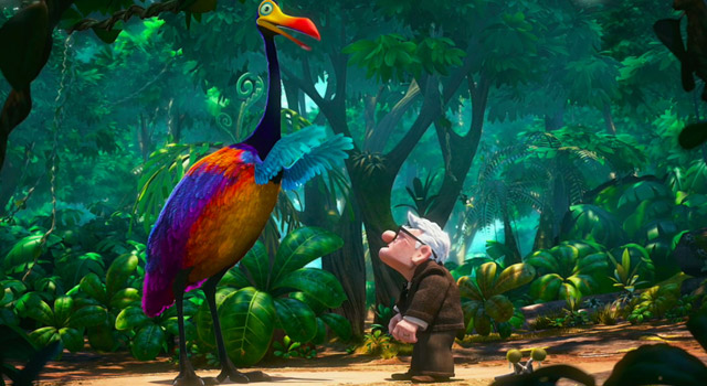 scene from Up